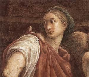 Reproduction oil paintings - Raphael - The Sibyls (detail)