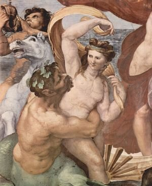 Reproduction oil paintings - Raphael - The Triumph of Galatea (detail 2)