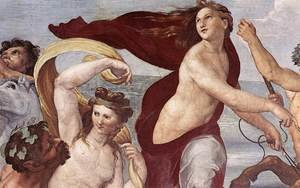 Reproduction oil paintings - Raphael - The Triumph of Galatea (detail) 1