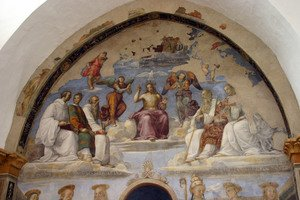Reproduction oil paintings - Raphael - Perugia, San Severo chapel
