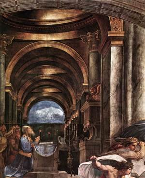 Reproduction oil paintings - Raphael - Stanze Vaticane 6