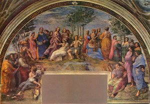 Reproduction oil paintings - Raphael - Stanze Vaticane 25