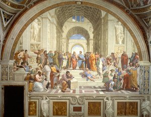 Reproduction oil paintings - Raphael - Stanze Vaticane 32