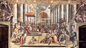 Reproduction oil paintings - Raphael - The Donation of Constantine