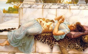 Reproduction oil paintings - John William Godward - The Betrothed 2