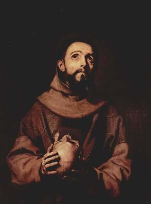 Reproduction oil paintings - Jusepe de Ribera - St. Francis of Assisi