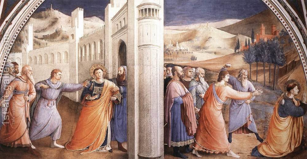 Huge version of Scenes from the Life of St Stephen