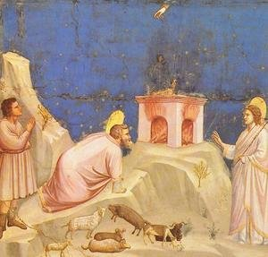 Reproduction oil paintings - Giotto Di Bondone - Scrovegni 4