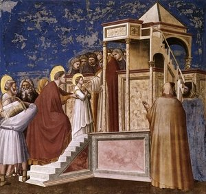 Reproduction oil paintings - Giotto Di Bondone - Scrovegni 9