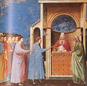 Reproduction oil paintings - Giotto Di Bondone - Scrovegni 10