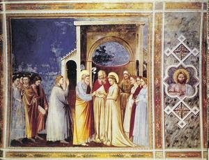 Reproduction oil paintings - Giotto Di Bondone - Scrovegni 12