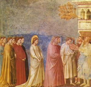 Reproduction oil paintings - Giotto Di Bondone - Scrovegni 13