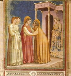 Reproduction oil paintings - Giotto Di Bondone - Scrovegni 17