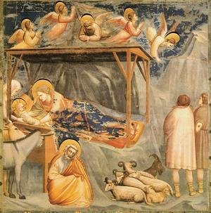Reproduction oil paintings - Giotto Di Bondone - Scrovegni 18