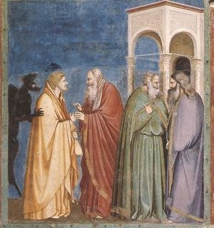 Reproduction oil paintings - Giotto Di Bondone - Scrovegni 29
