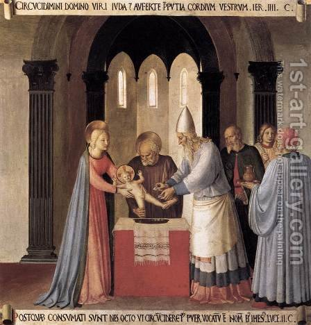Circumcision by Giotto Di Bondone - Reproduction Oil Painting