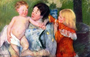 Reproduction oil paintings - Mary Cassatt - After bath