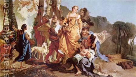 Finding the Moses by Giovanni Battista Tiepolo - Reproduction Oil Painting