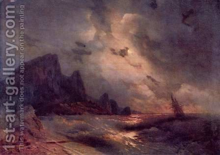 Die See by Ivan Konstantinovich Aivazovsky - Reproduction Oil Painting