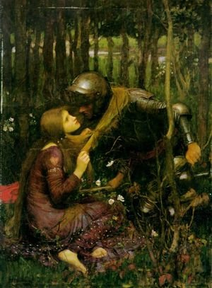 Reproduction oil paintings - Waterhouse - The Beautiful Woman Without Mercy
