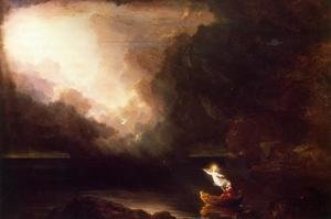 Thomas Cole reproductions - The Voyage of Life, Old Age