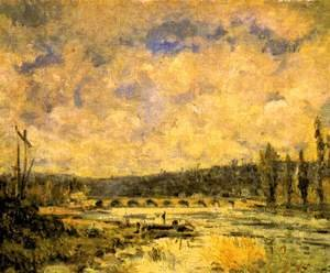 Reproduction oil paintings - Alfred Sisley - A ponte em Sèvres