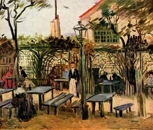 Reproduction oil paintings - Vincent Van Gogh - La Guinguette 1886