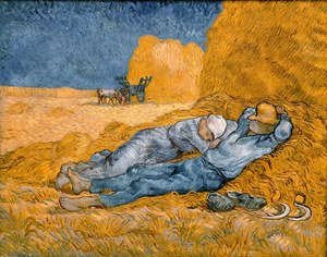 Reproduction oil paintings - Vincent Van Gogh - La Méridienne 1889