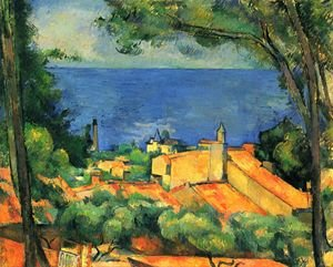 Reproduction oil paintings - Paul Cezanne - L'Estaque 2