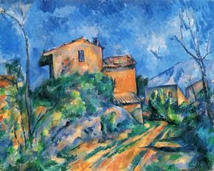 Reproduction oil paintings - Paul Cezanne - Maison Maria at the way to the Château Noir
