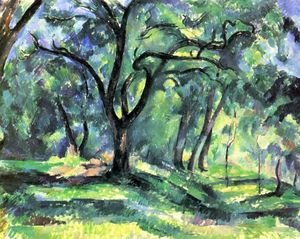 Reproduction oil paintings - Paul Cezanne - Small forest