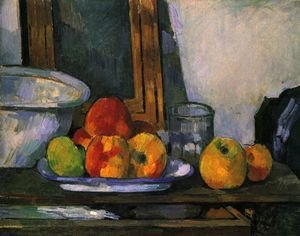 Reproduction oil paintings - Paul Cezanne - Still life with open drawer