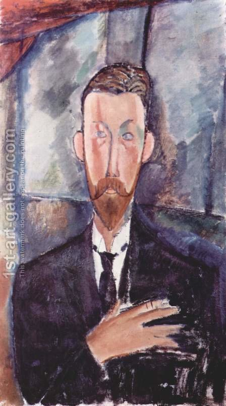 Portrait of Paul Alexanders by Amedeo Modigliani - Reproduction Oil Painting