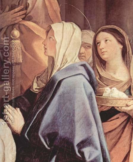 The circumcision of the Child Jesus, Detail 1 by Guido Reni - Reproduction Oil Painting
