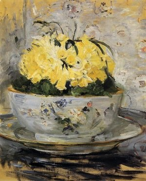 Reproduction oil paintings - Berthe Morisot - Daffodils