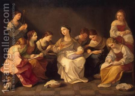 The youth of Virgin Mary by Guido Reni - Reproduction Oil Painting