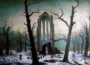 Reproduction oil paintings - Caspar David Friedrich - Cementery