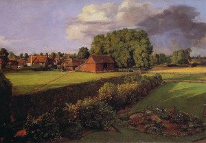 Reproduction oil paintings - John Constable - Golding Constable's Flower Garden