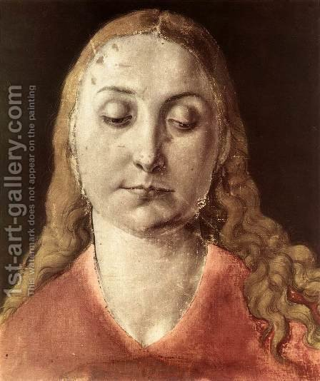 Head of a Woman by Albrecht Durer - Reproduction Oil Painting