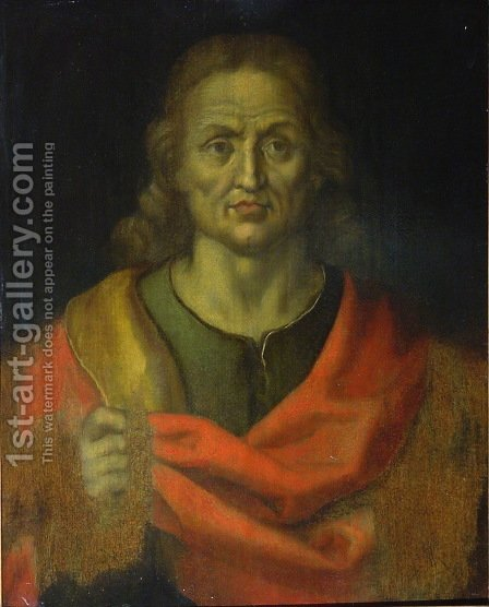 Salvator Mundi by Albrecht Durer - Reproduction Oil Painting