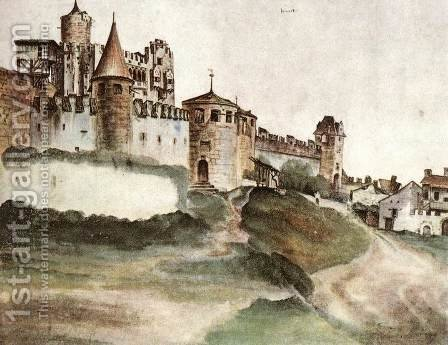 The Castle at Trento by Albrecht Durer - Reproduction Oil Painting