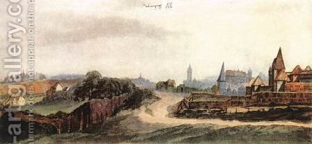 View of Nuremberg by Albrecht Durer - Reproduction Oil Painting
