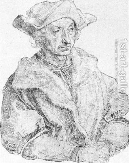 Sebastian Brant by Albrecht Durer - Reproduction Oil Painting