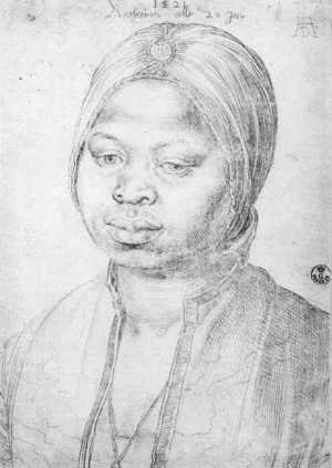 Reproduction oil paintings - Albrecht Durer - The Negress Katherina