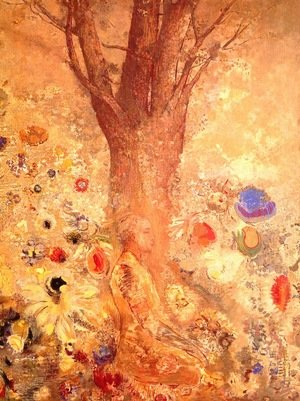 Odilon Redon reproductions - Buddha in His Youth