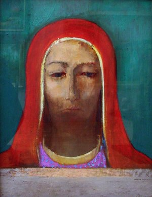 Reproduction oil paintings - Odilon Redon - The Silence