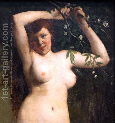 Torso of a Woman by Gustave Courbet - Reproduction Oil Painting