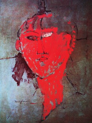 Reproduction oil paintings - Amedeo Modigliani - The red head