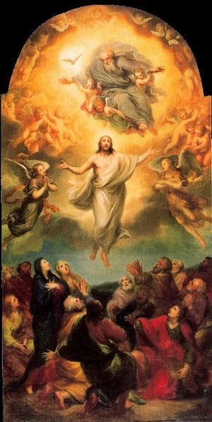 Famous paintings of Angels: Ascension of Christ
