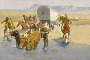 Reproduction oil paintings - Frederic Remington - The Emigrants